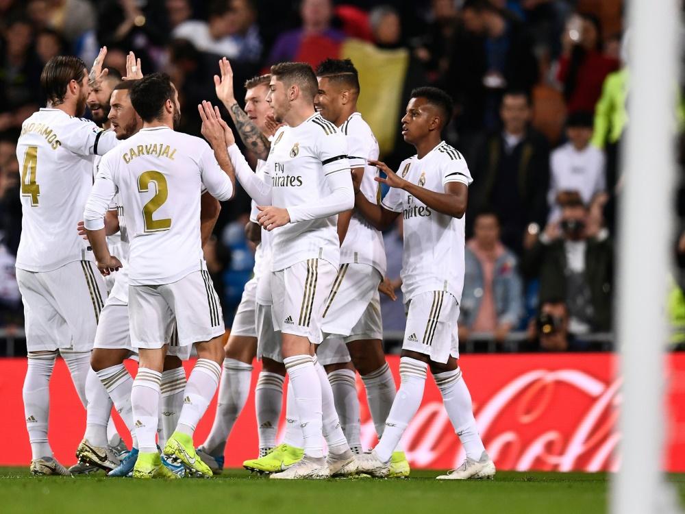 Real Madrid feiert Kantersieg gegen das Ligaschlusslicht