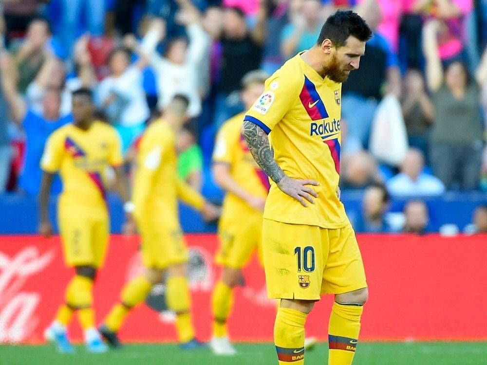 Pleite für den FC Barcelona und Superstar Lionel Messi