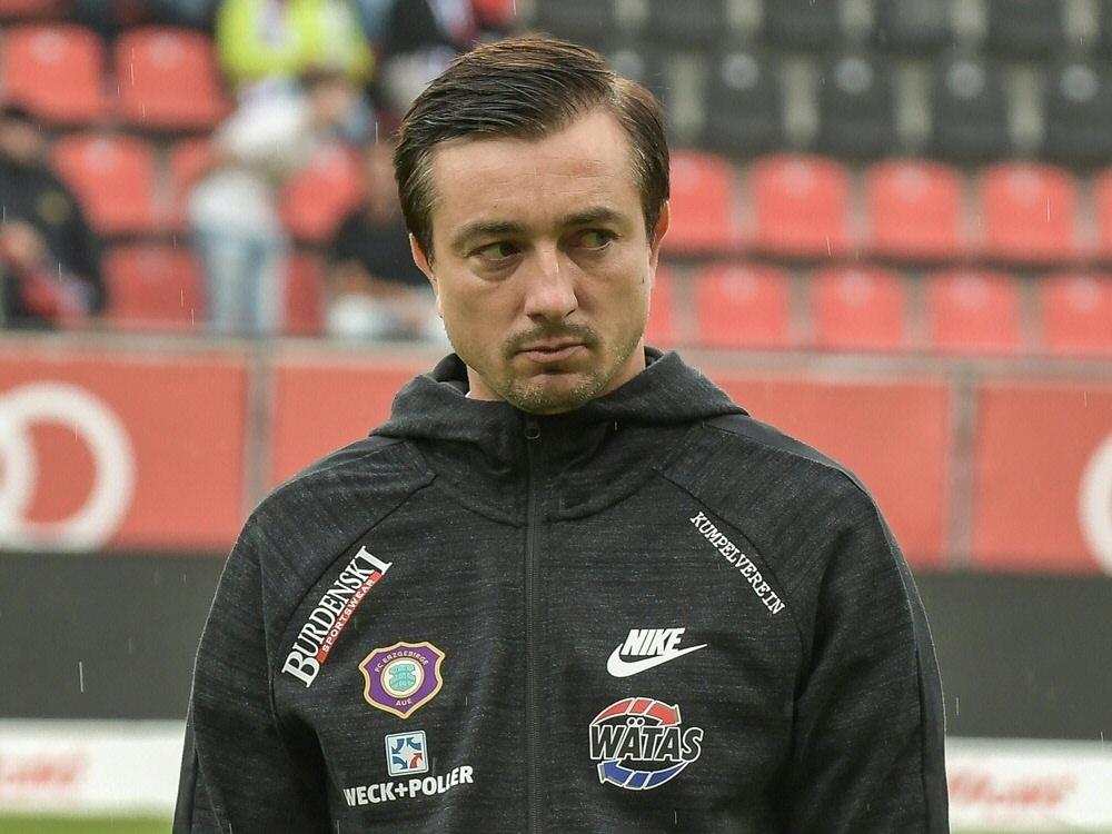 Aue löst Vertrag mit Ex-Coach Daniel Meyer auf