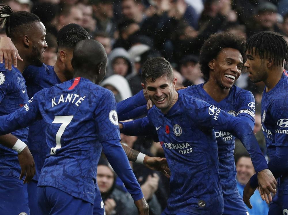 Der FC Chelsea klettert vorerst auf den zweiten Rang