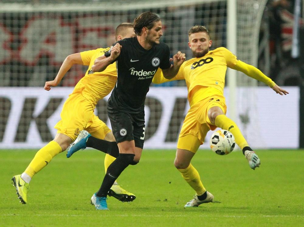 Eintracht Frankfurt unterliegt in Lüttich mit 1:2