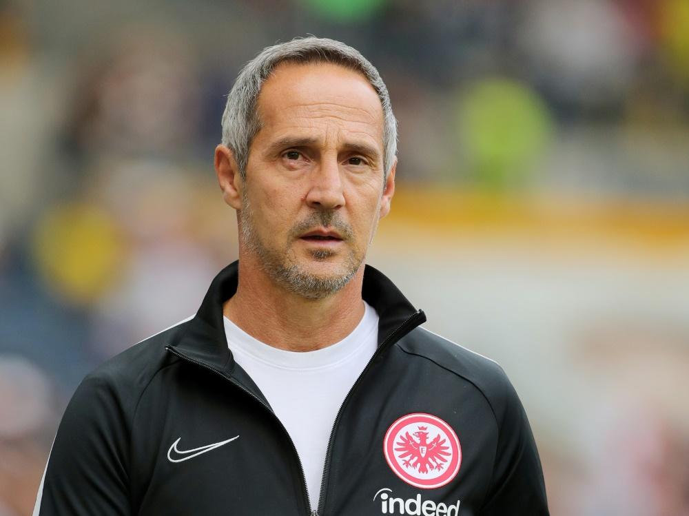 Hadert mit der Niederlage: Adi Hütter