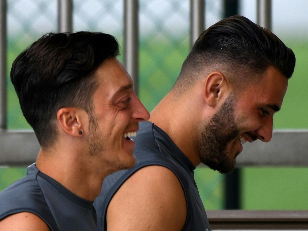 Özil und Kolasinac sind im Juli überfallen worden