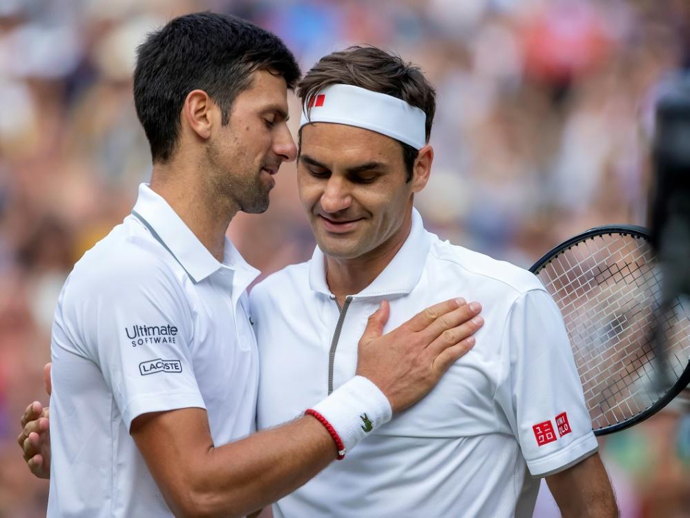 ATP-Finals: Novak Djokovic trifft auf Roger Federer