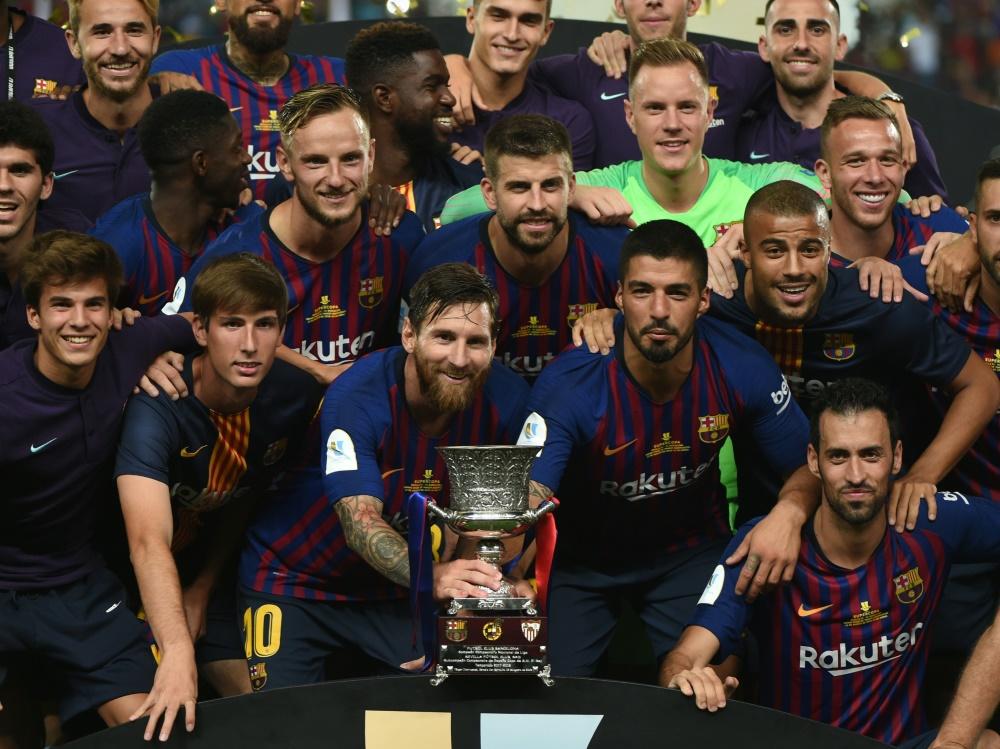 Spaniens Supercup wird künftig in Saudi-Arabien ausgetragen
