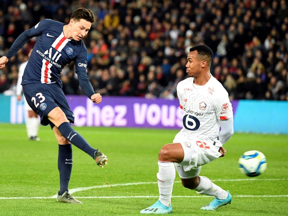 Julian Draxler gewinnt mit Paris St. Germain gegen Lille