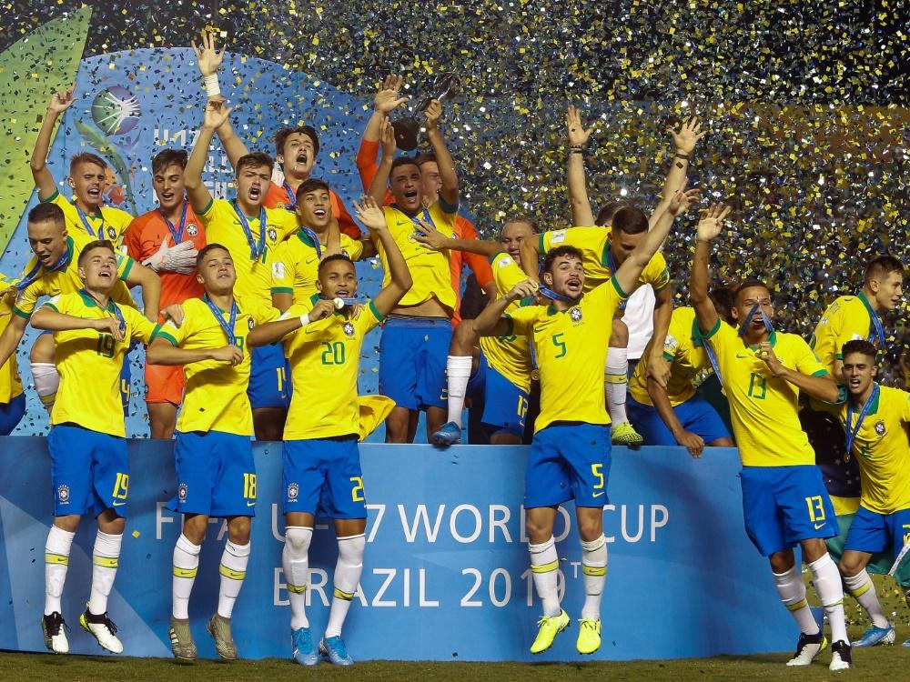 Brasiliens U17 triumphiert bei der Heim-WM