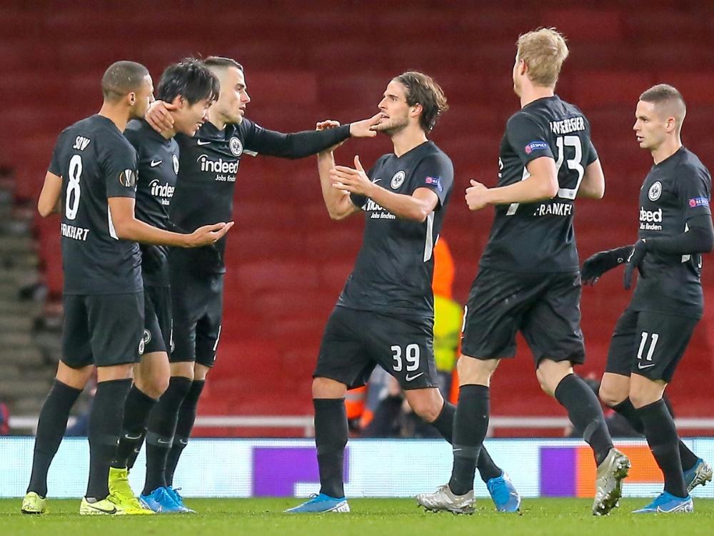 Europa League: Frankfurt schlägt den FC Arsenal