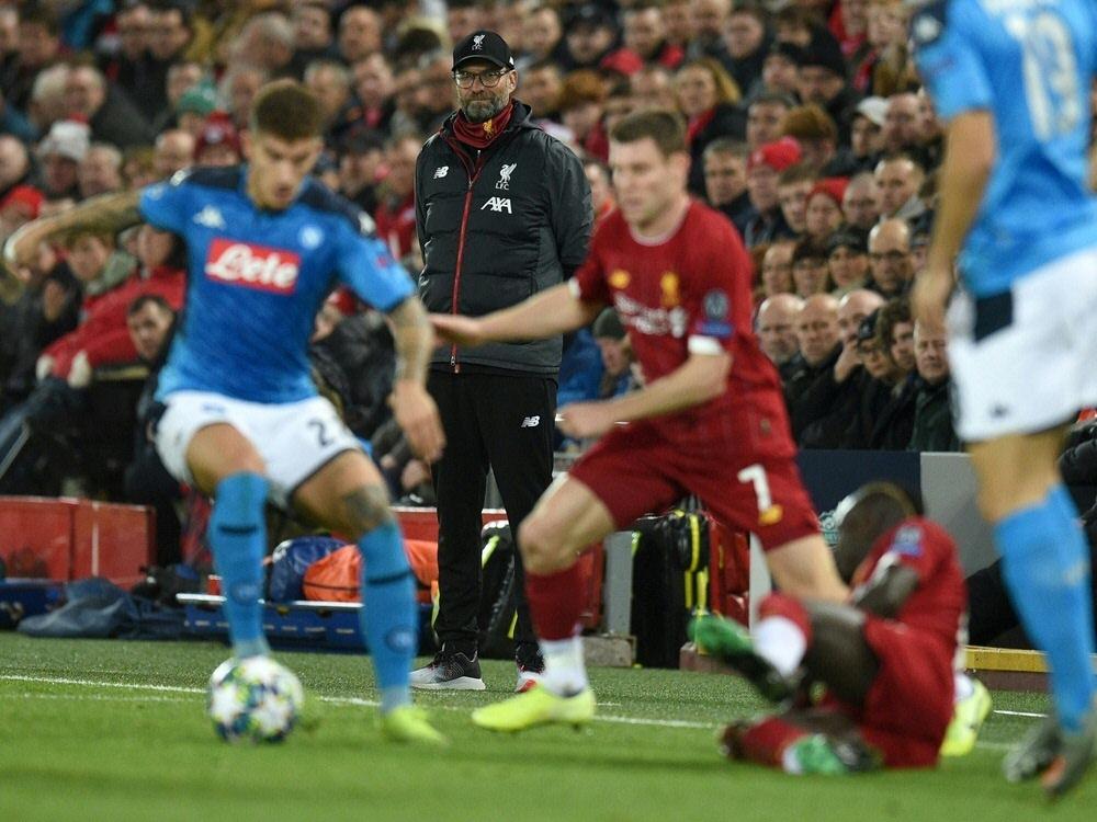 Klopp mit Liverpool noch nicht sicher im Achtelfinale