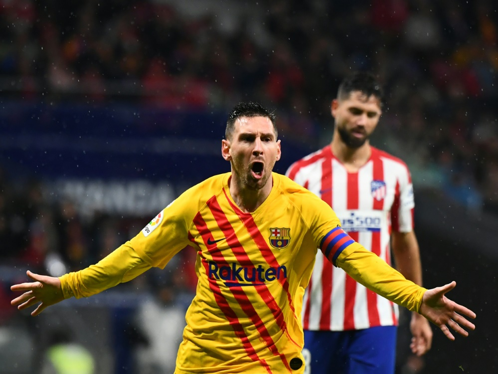 Messi wurde erneut zu Barcas Matchwinner