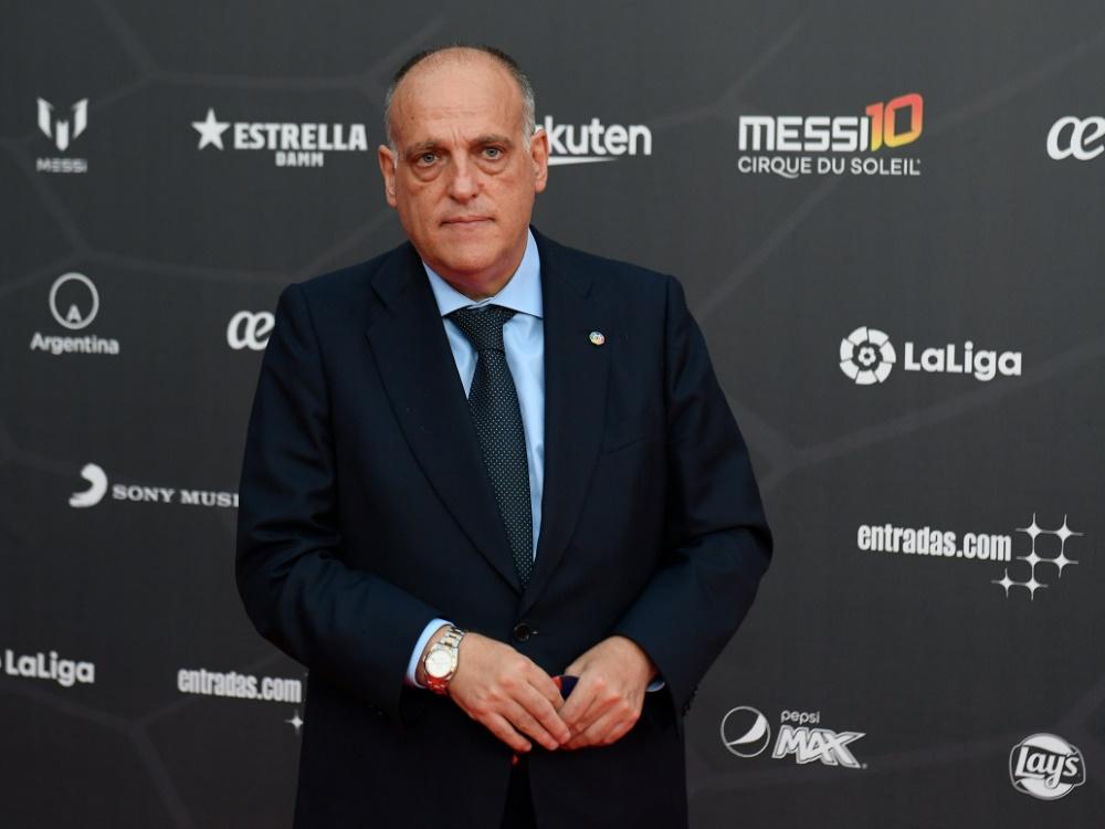 Javier Tebas tritt vorerst zurück