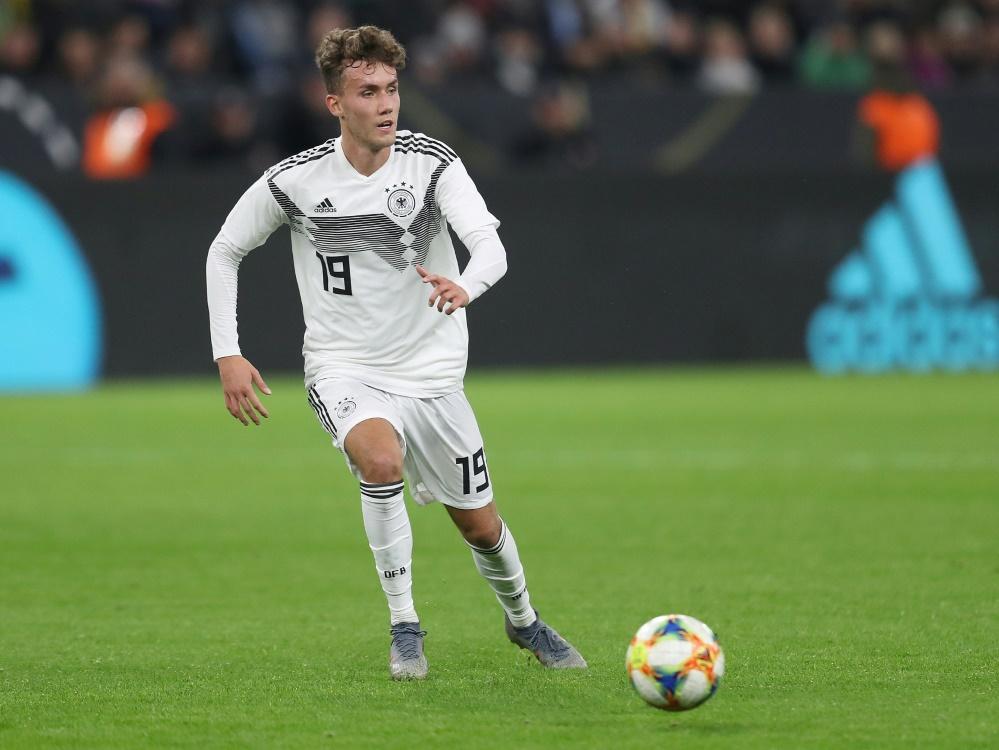 Waldschmidt debütierte im Oktober für die DFB-Elf