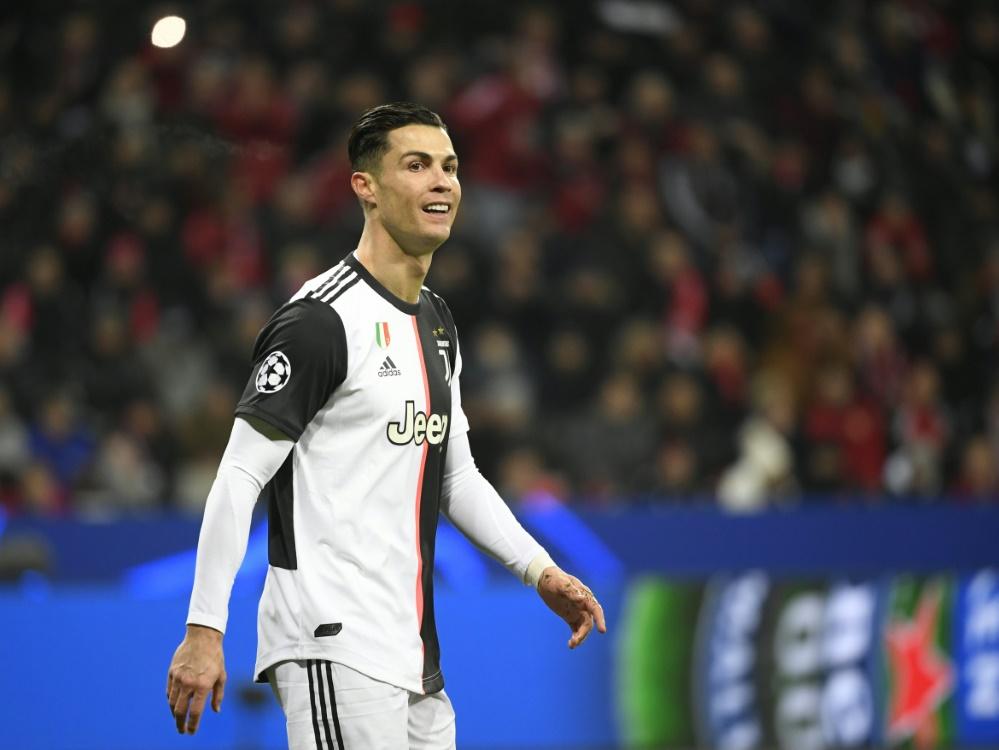 Cristiano Ronaldo traf in Leverkusen zum 1:0