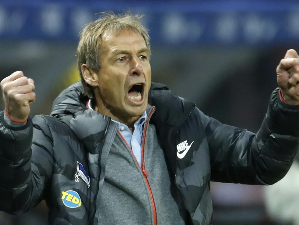 Klinsmann kann sich über den ersten Sieg freuen