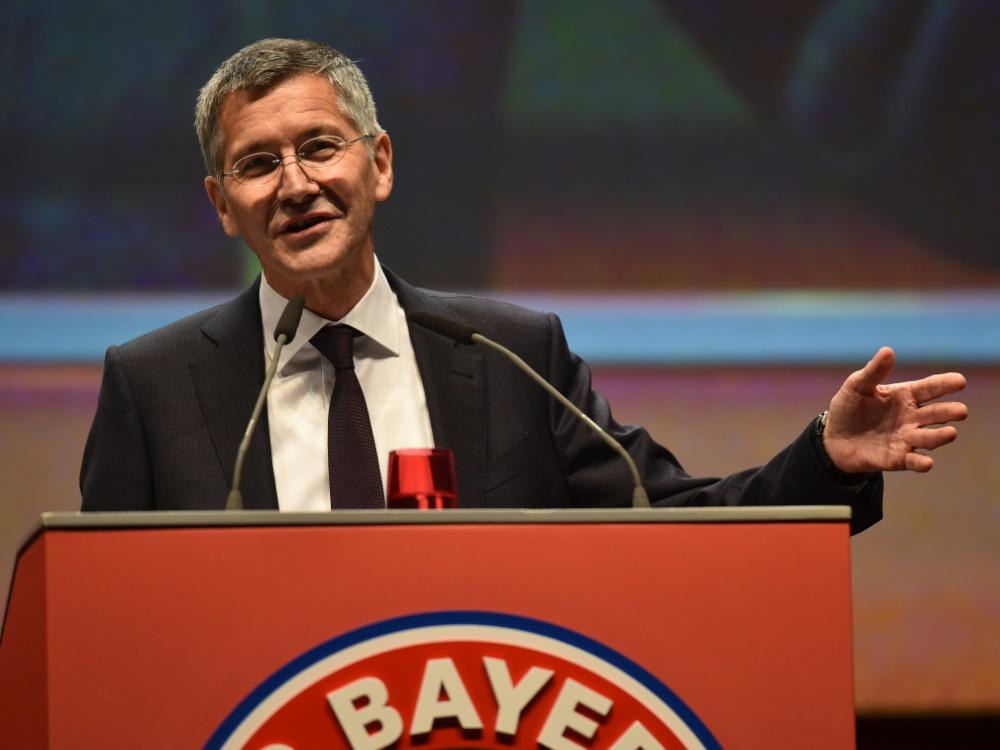 Herbert Hainer steht zur Bundesliga