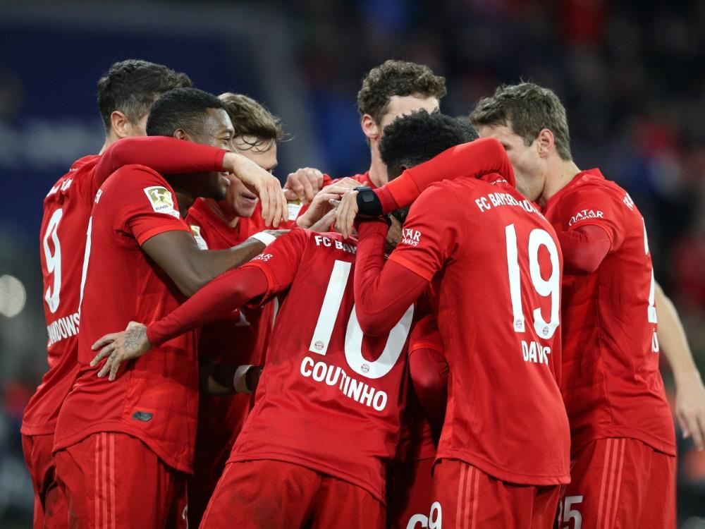 Bayern gewann gegen Bremen souverän mit 6:1