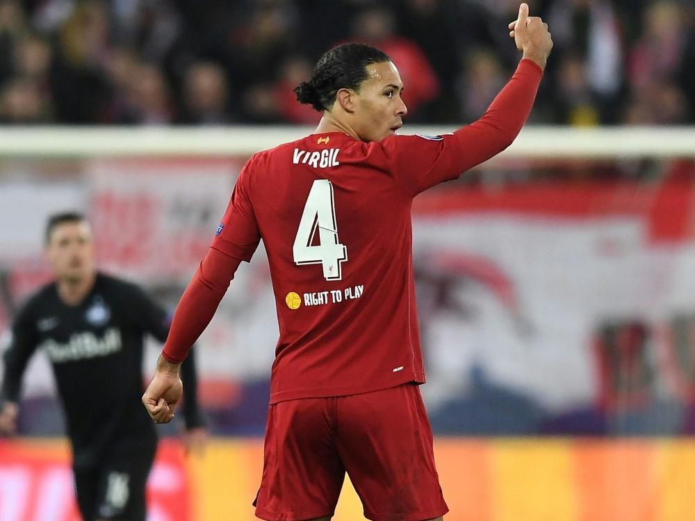 Virgil van Dijk bei Klub-WM in Liverpools Startelf