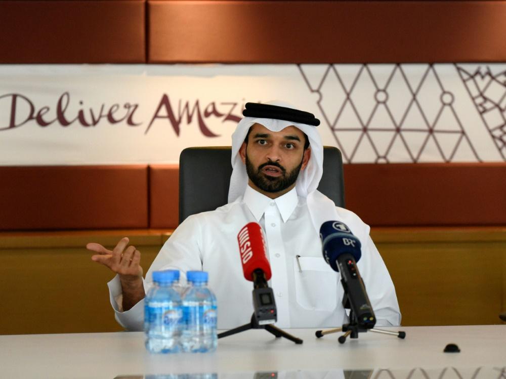 Hassan al Thawadi ist für die WM 2022 bereit