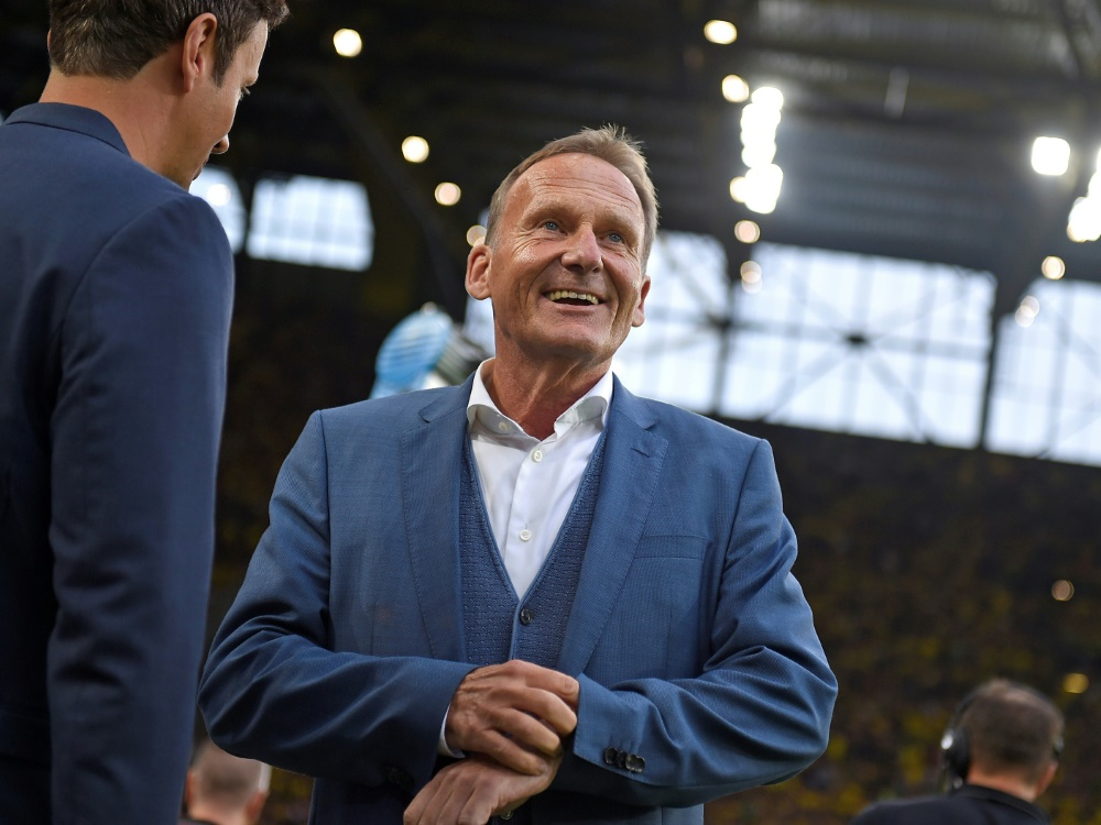 Hans-Joachim Watzke glaubt an Mats Hummels EM-Chance