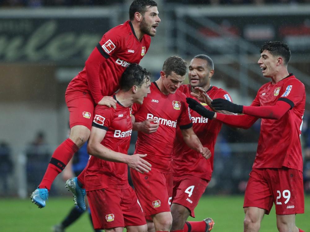 Bayer Leverkusen bezwingt Paderborn deutlich mit 4:1