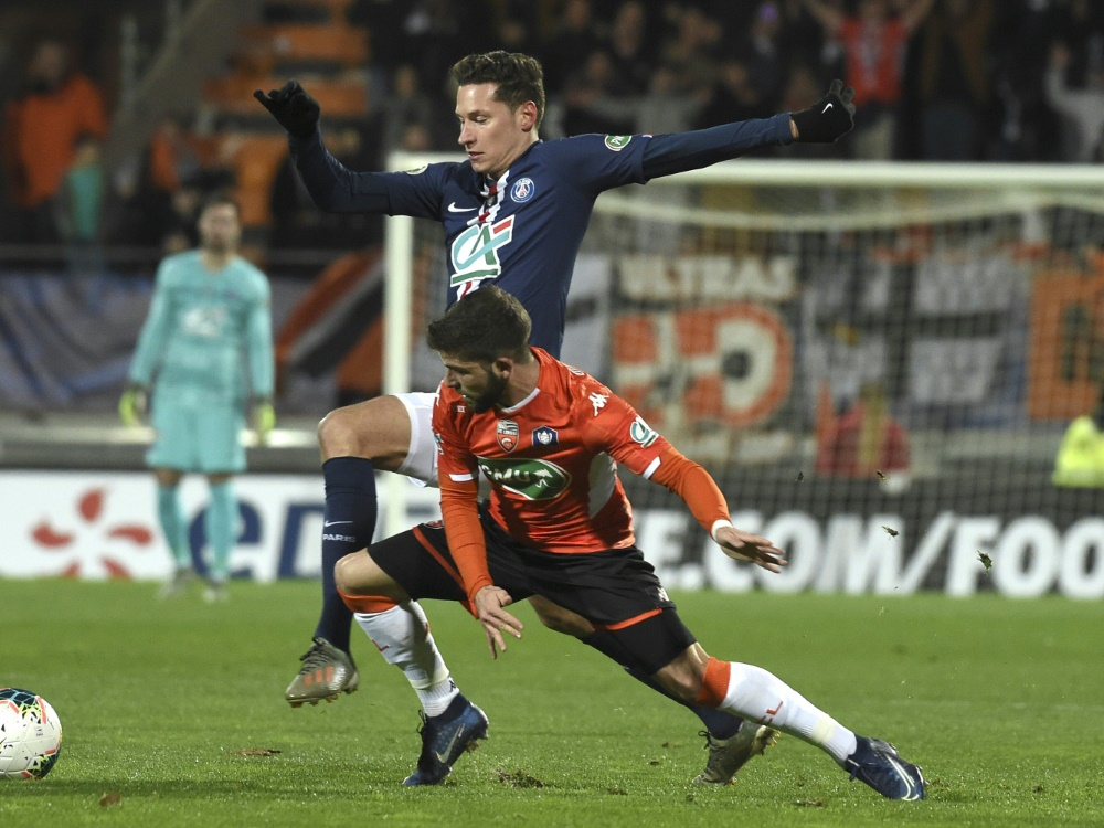 Pokal: Draxler und Paris setzen sich gegen Lorient durch