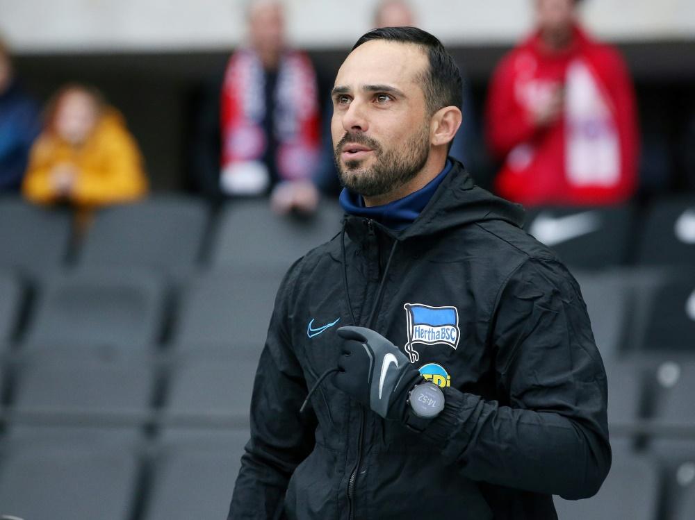 Co-Trainer Alexander Nouri gelobt Besserung in Wolfsburg