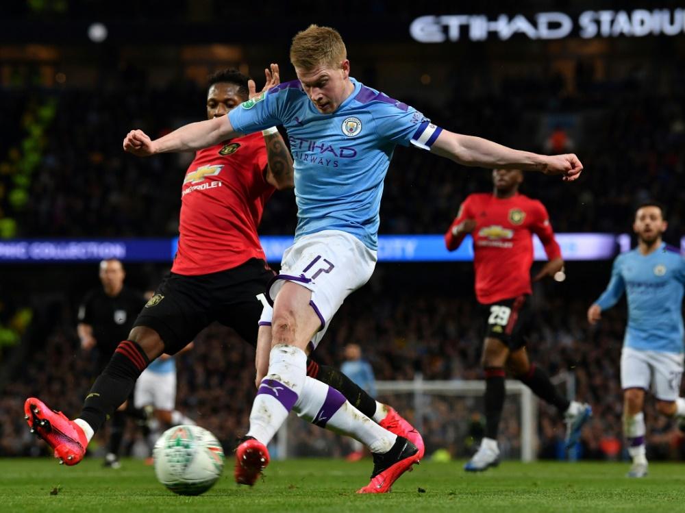Manchester City trotz Pleite im Ligapokal-Finale