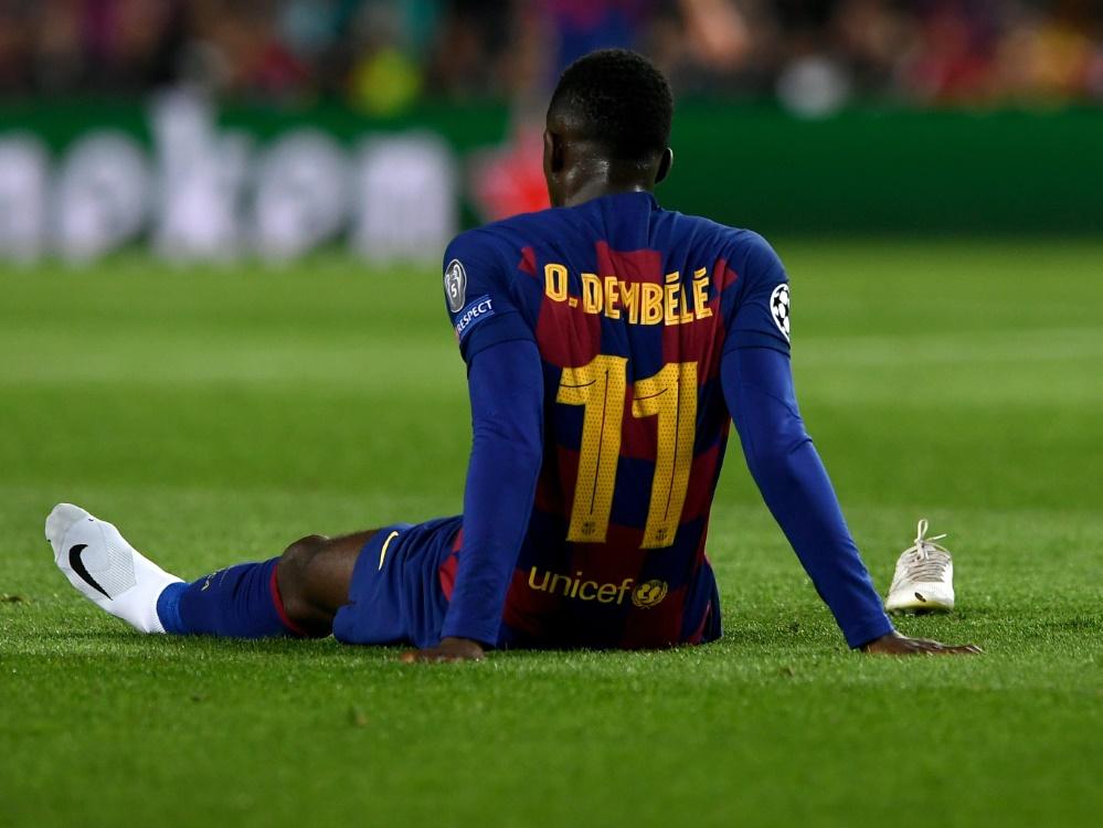 Fällt erneut mehrere Monate aus: Ousmane Dembele