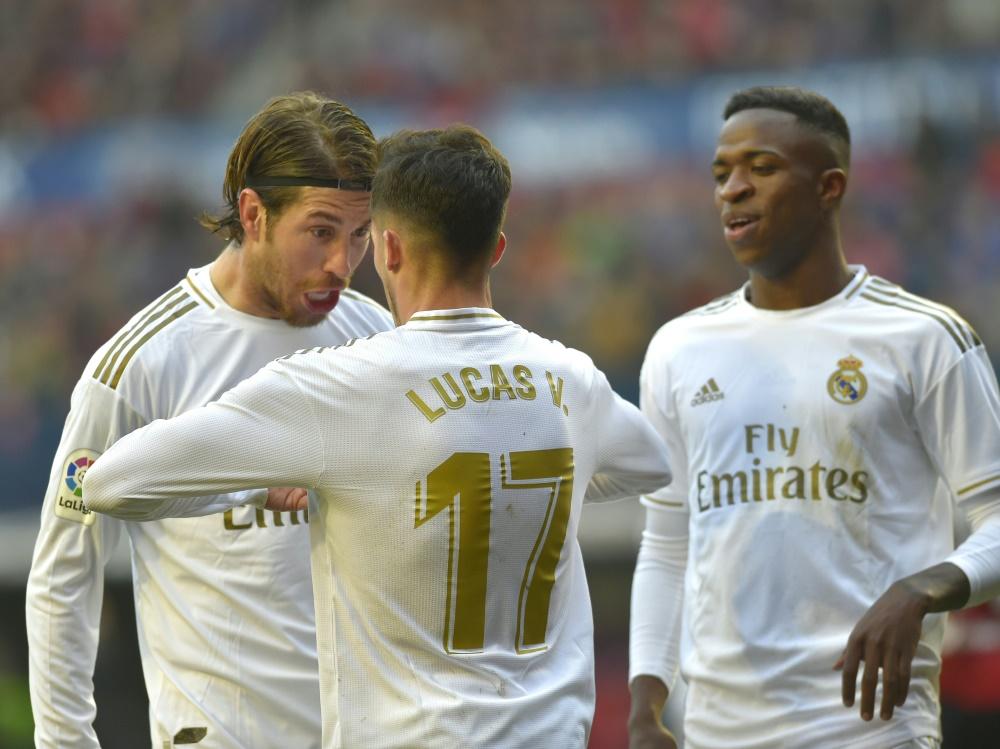 Real Madrid gewinnt in Osasuna
