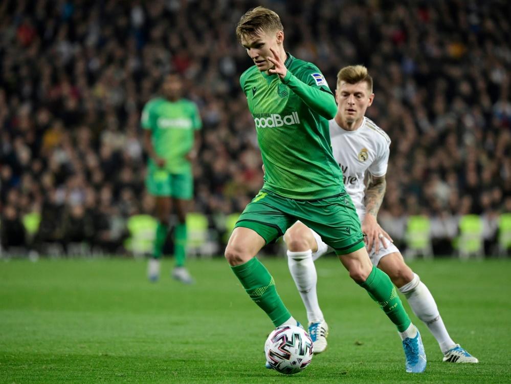 Leihspieler Martin Ödegaard erzielte ein Tor gegen Real