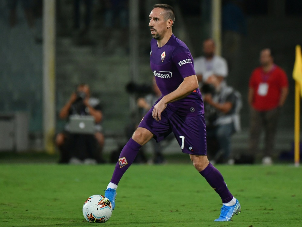 Ribery hatte sich im Spiel gegen Lecce verletzt