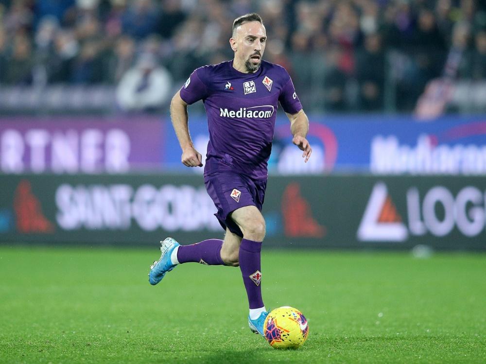 Trainiert schon wieder individuell: Franck Ribery