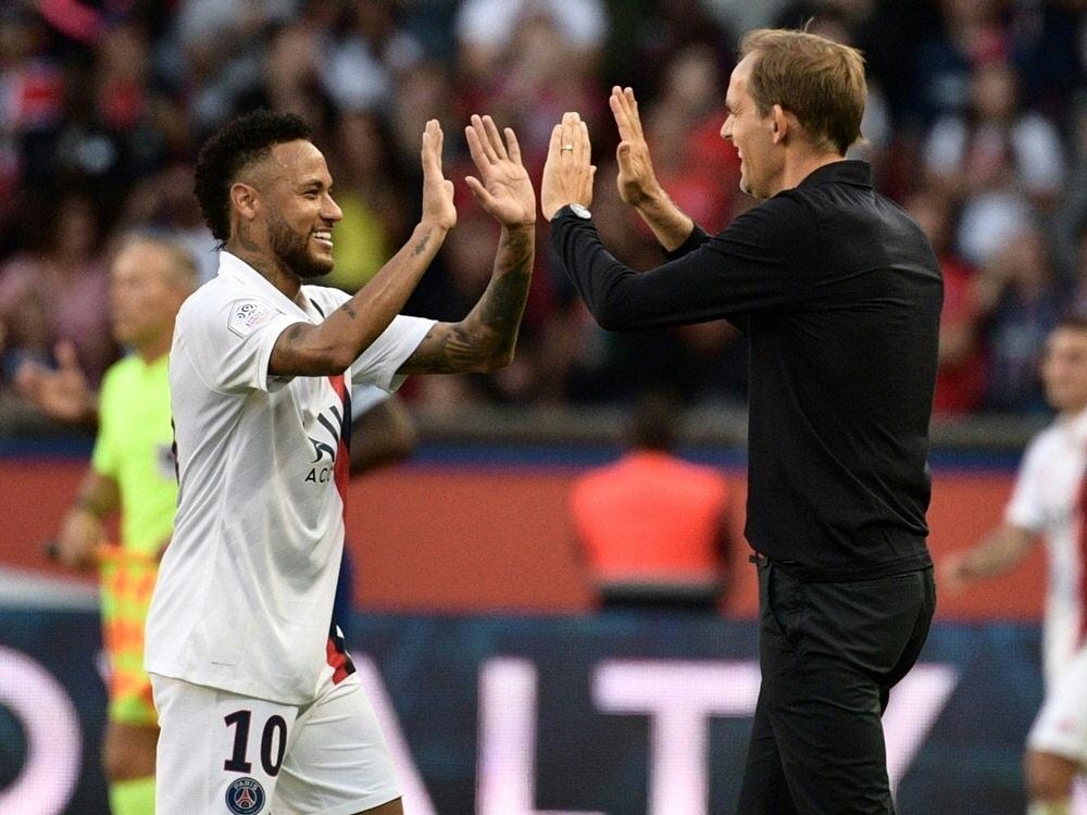 Superstar Neymar kann gegen den BVB wohl spielen
