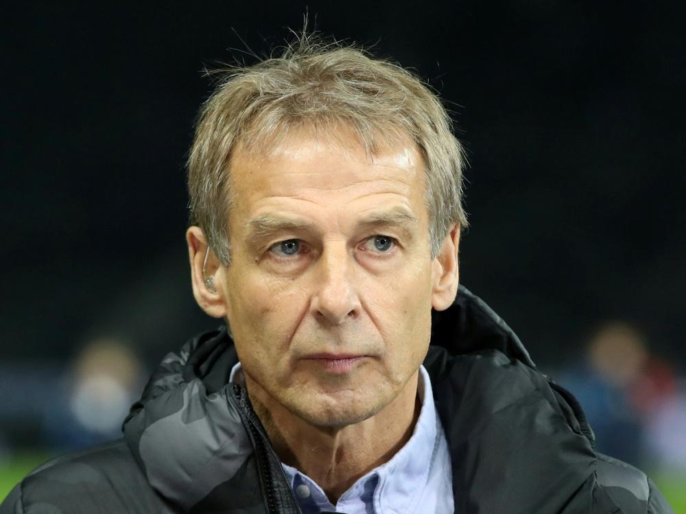 Jürgen Klinsmann tritt als Trainer der Hertha zurück