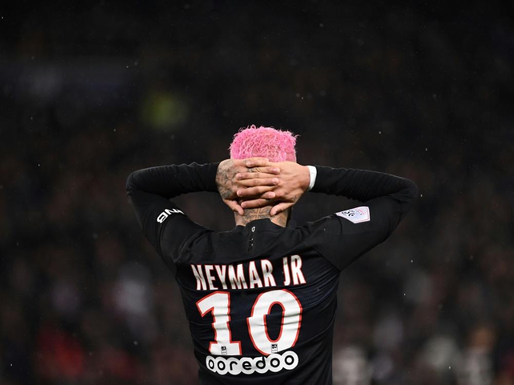 Neymar könnte PSG in Dortmund fehlen