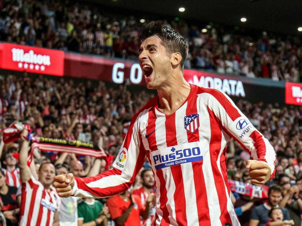 Morata hatte sich im Derby gegen Real Madrid verletzt
