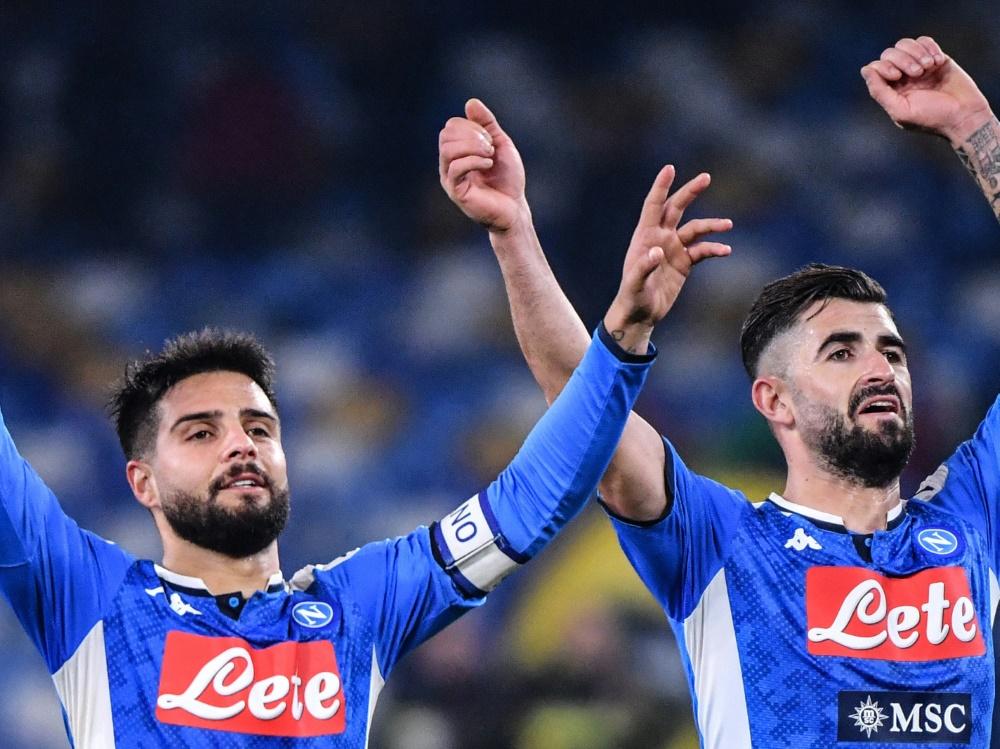 Neapel hat das Pokalfinale im Blick