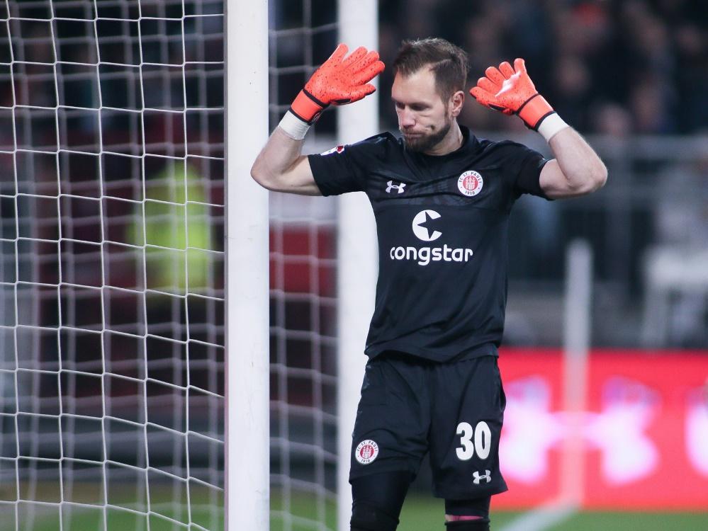Himmelmann patzte beim Treffer zum 2:1 für Kiel