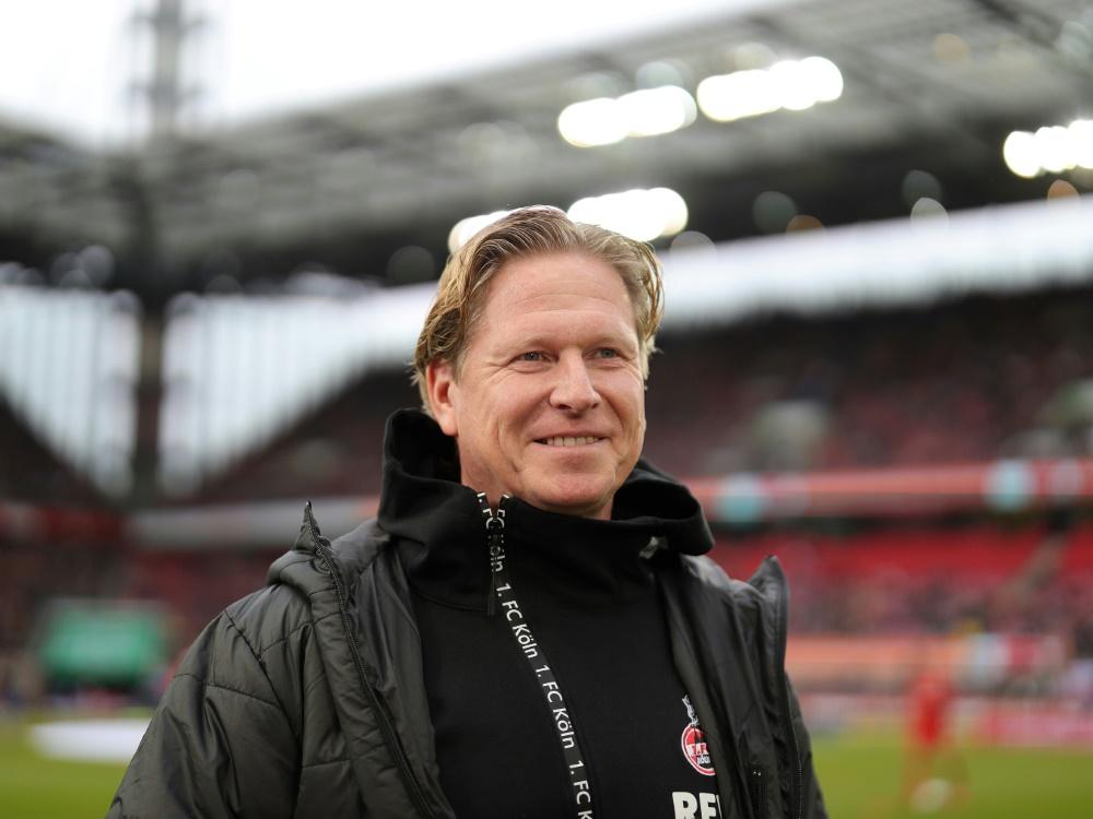 Gisdol hofft auf einen Sieg gegen die Bayern