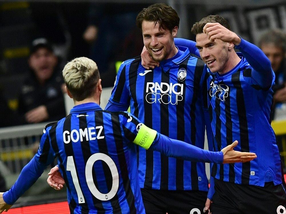 Bergamo schlägt Valencia im Hinspiel mit 4:1