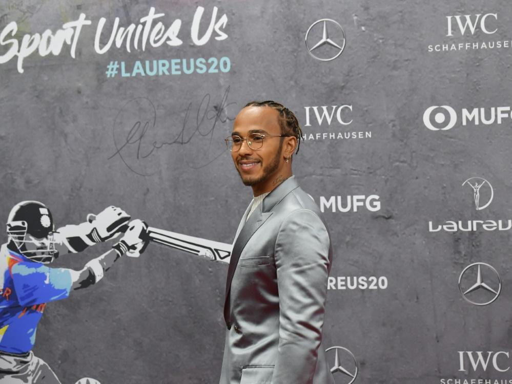 Lewis Hamilton erhält Auszeichnung als bester Sportler