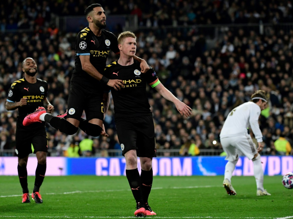 Kevin de Bruyne erzielt den Siegtreffer für City