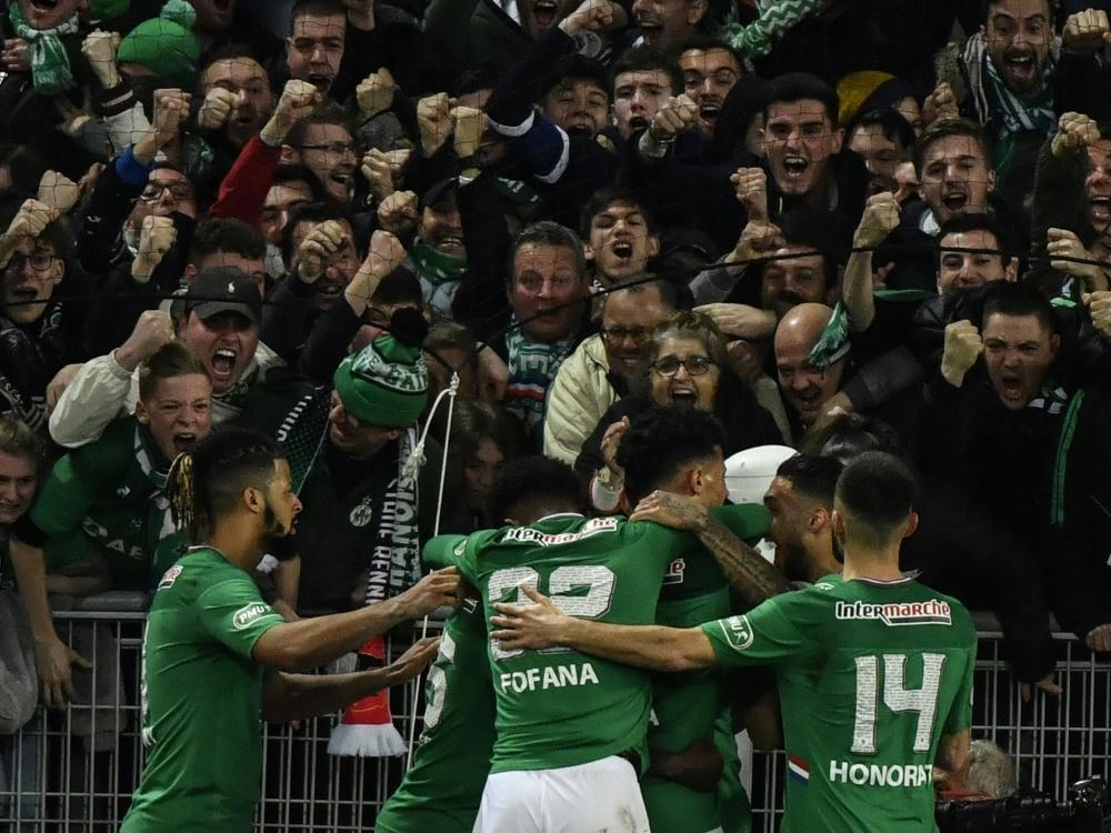 St. Etienne dank Last-Minute-Treffer im Finale