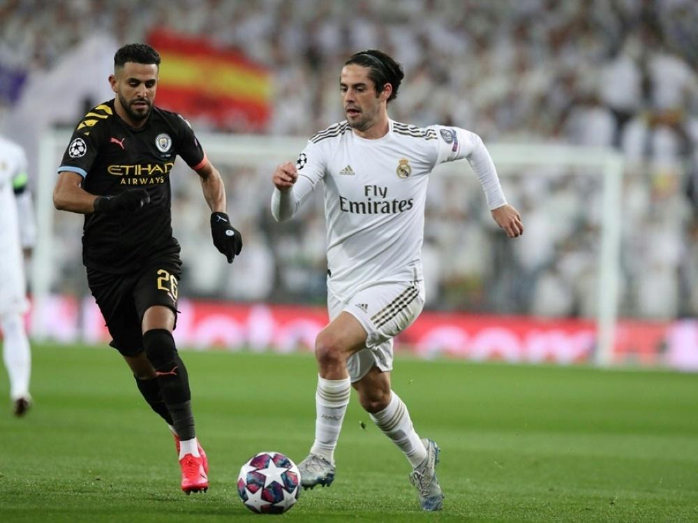 Rückspiel zwischen City und Real verschoben