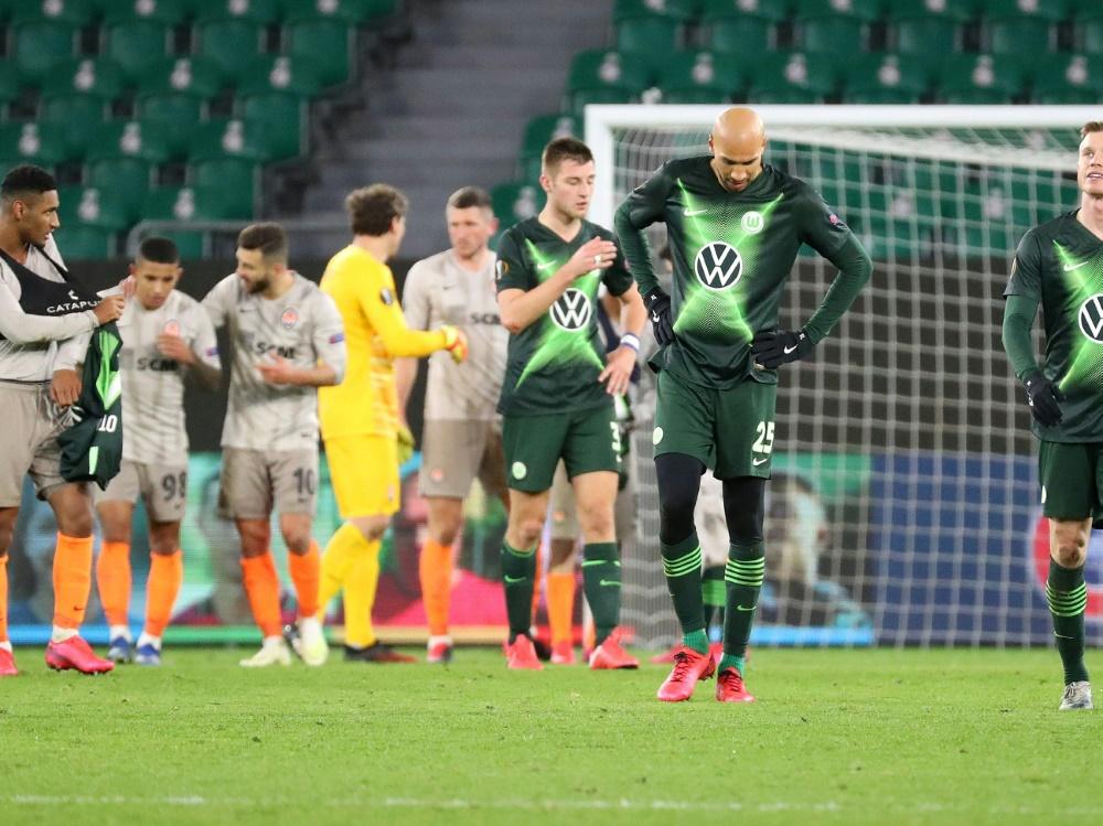 Wolfsburg und Frankfurt patzten in der Europa League