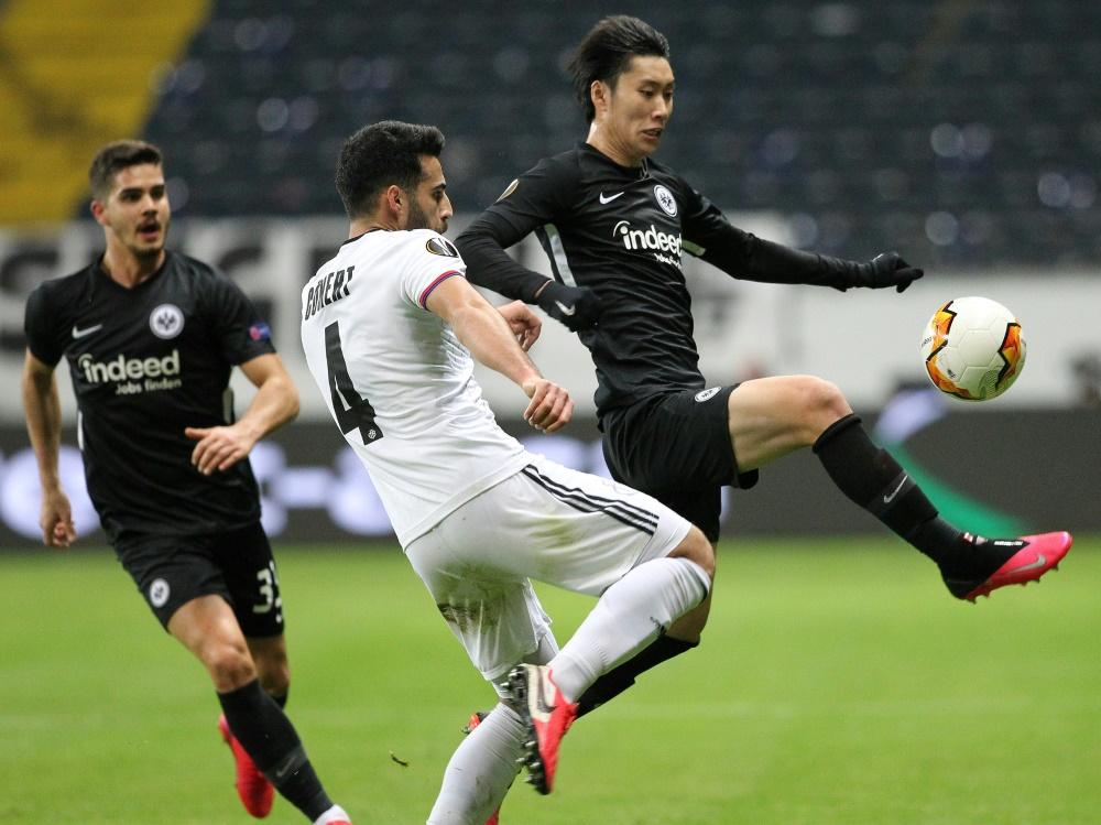 Eintracht Frankfurt verliert zu Hause gegen Basel