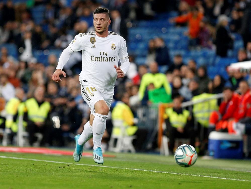 Jovic war im Sommer von Frankfurt nach Madrid gewechselt