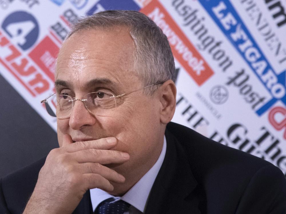 Lazio-Präsident Claudio Lotito steht in der Kritik