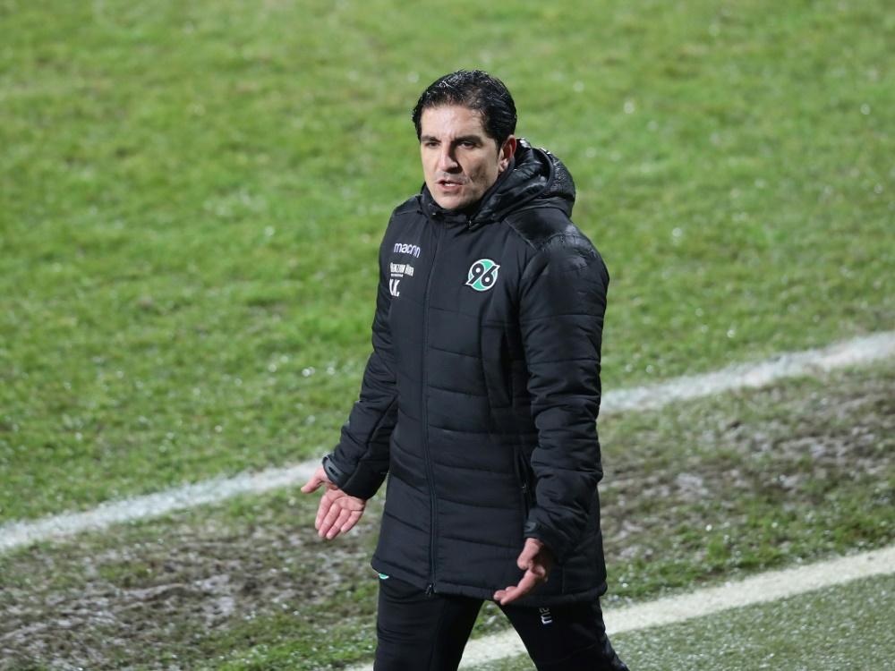 Kocak ist seit November 2019 Trainer von Hannover 96