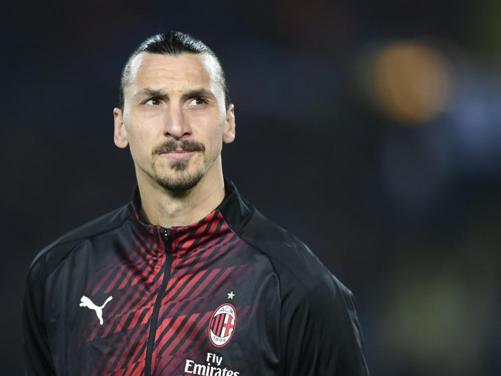 Superstar Zlatan Ibrahimovic ruft zu Spenden auf
